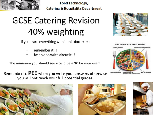 Revision guides for gcse catering hospitality by majoradventures revision guides for gcse catering hospitality by majoradventures teaching resources tes forumfinder Images