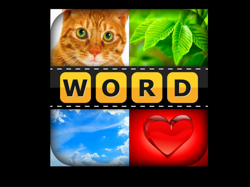Four pictures One word game