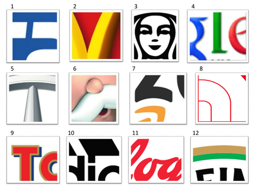 KS3 Graphics: Logo Quiz