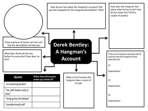 Derek Bentley - The Hangman's Account Activity