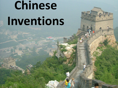 chinese inventions by mzs10 teaching resources. Black Bedroom Furniture Sets. Home Design Ideas