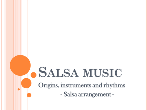 Introduction to Salsa music