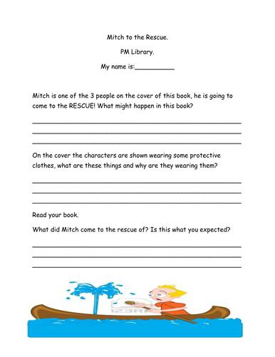 Pm Library reading books tasks- set 2