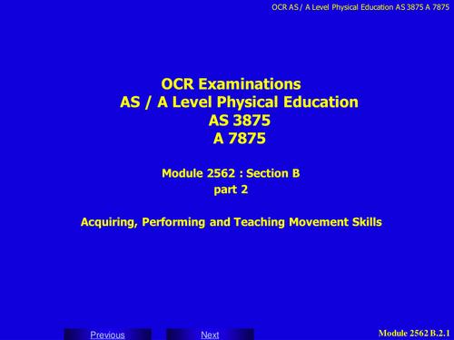 KS4 Theory PE GCSE and BTEC