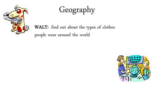 Clothes Around the World IPC