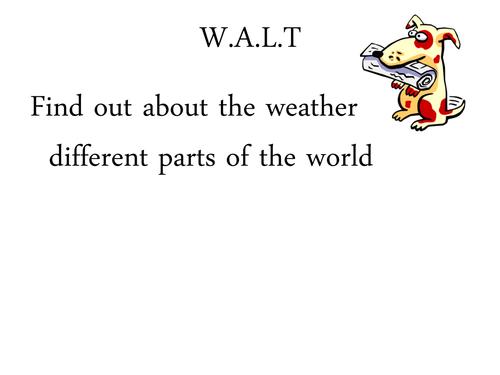 weather around the world