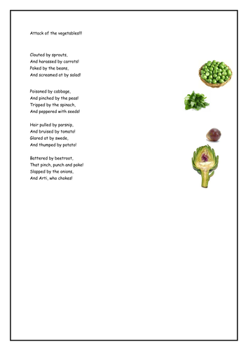 Healthy Food Descriptive Words