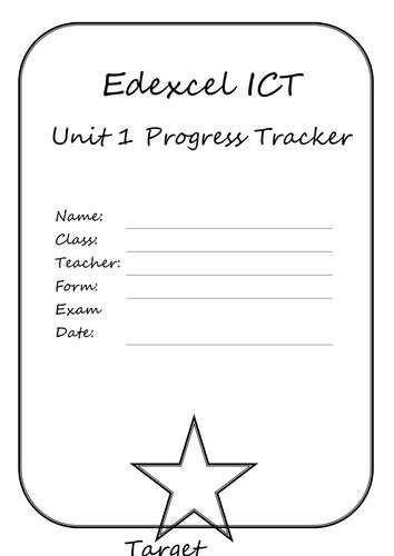 Edexcel Unit1 ICT Revision/APP Sheet