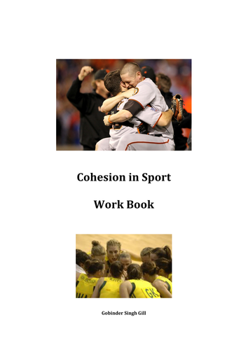 Group Cohesion in Sport