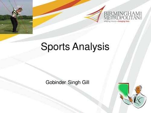 An Introduction to Sports Analysis