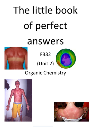 KS5 OCR B SALTERS Little Book of Perfect Answers
