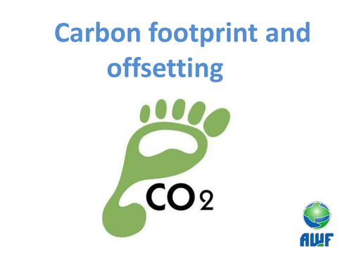 Carbon Footprints, Renewable Energy and Offsetting