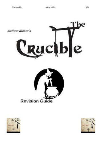 The Crucible Revision Guide
