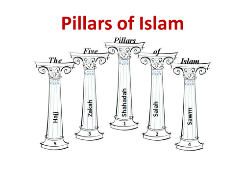 Introduction to the 5 pillars of Islam by Stacey3 Teaching – 5 Pillars of Islam Worksheet