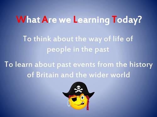 Pirates Full Topic Planning Year 2