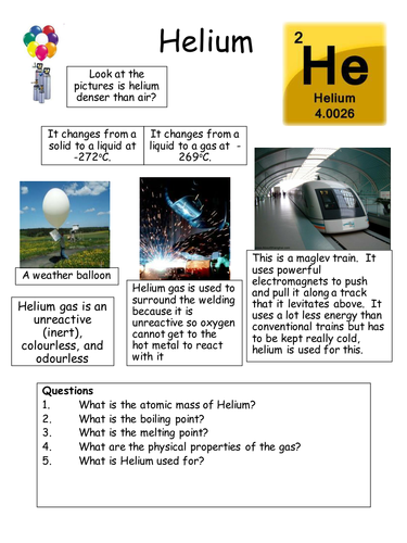 Noble gases - preventing the Hidenberg disaster