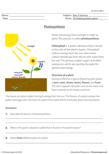 science worksheet photosynthesis by loulabell86 teaching resources. Black Bedroom Furniture Sets. Home Design Ideas