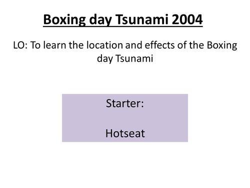 Boxing day Tsunami