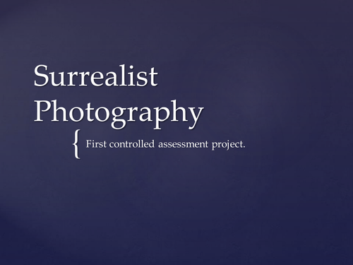 Surrealism in Photography