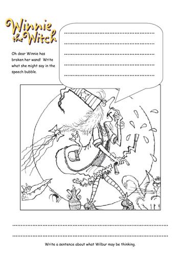 Winnie the Witch resources