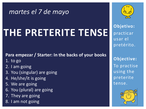 KS3 Spanish - Preterite Tense