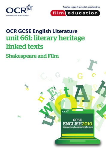 aqa english literature b coursework