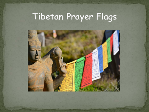 tibetan prayer flags by mowser19 teaching resources tes