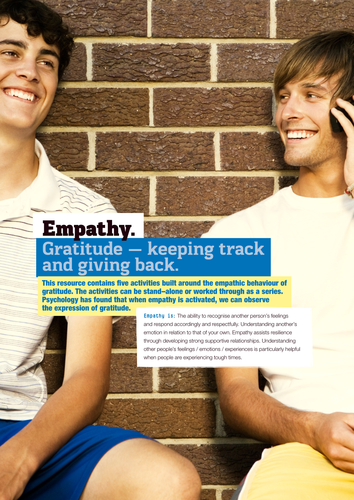 Empathy. What is it? Can it be taught?