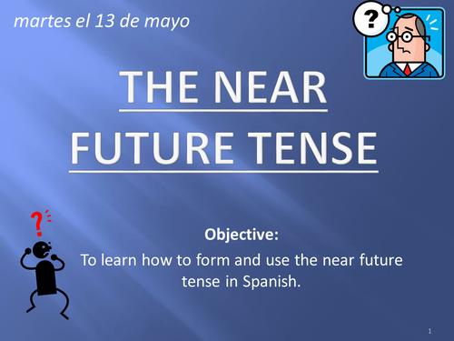 Spanish: Immediate Future Tense PowerPoint