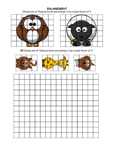 For starters - Enlargement grids