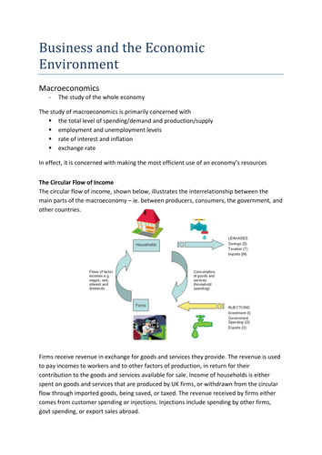 IGCSE Enterprise Revision Booklet by MissS_a_185 | Teaching