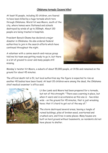 Oklahoma Tornado May 2013