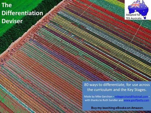 Differentiation Deviser