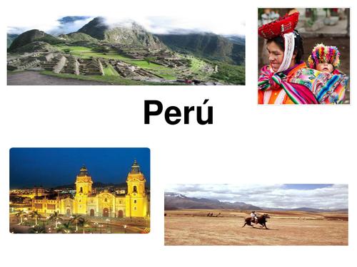 KS3 Spanish - Peru
