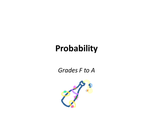 Probability - F to A