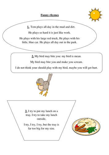 Phonic Comprehension Worksheets KS1 (Yr 2) by PandaPop25 | Teaching ...