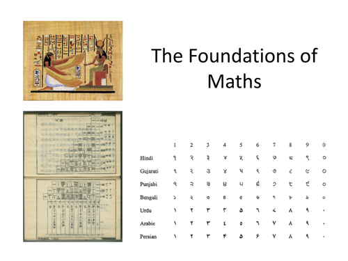 The Foundations of Maths