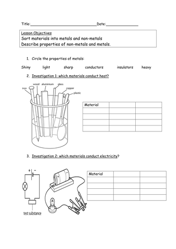 Explore Science Worksheets 8f By Kittysensei Teaching Resources Tes