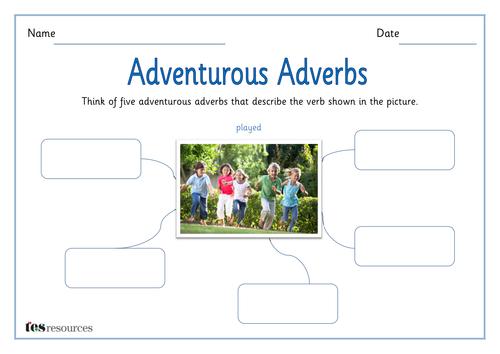 SPaG - Adventurous Adverbs Activity