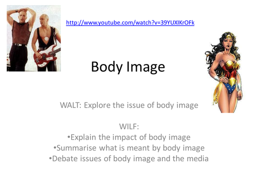 Body Image KS4 PSHE