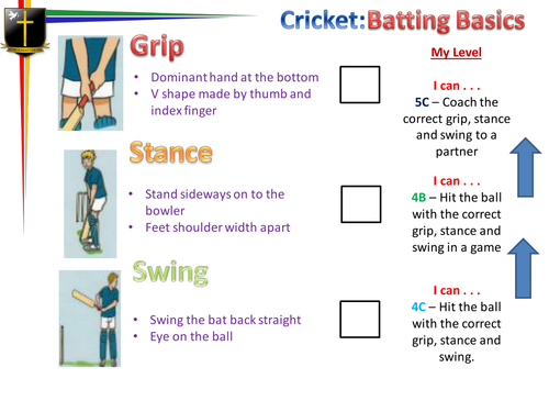 Cricket (Batting basics)