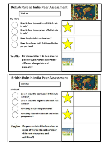 British Rule in India - Challenge HH