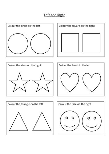 left and right ks1 worksheet by twinkle twin teaching resources tes. Black Bedroom Furniture Sets. Home Design Ideas