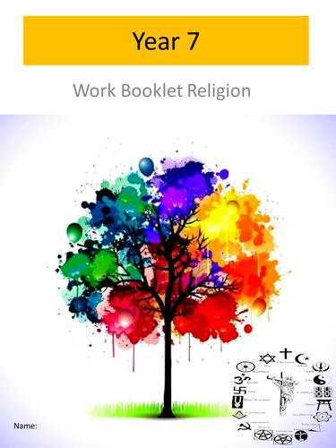 RE Year 7 workbooklet