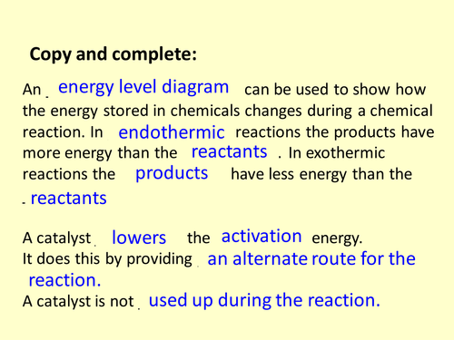 C3 AQA Energy Calculation 34 Bond Energies by neeny468 Teaching – Bond Energy Worksheet