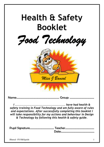 Inroduction to Food Technology in Y7 by thefunkneverdies | Teaching