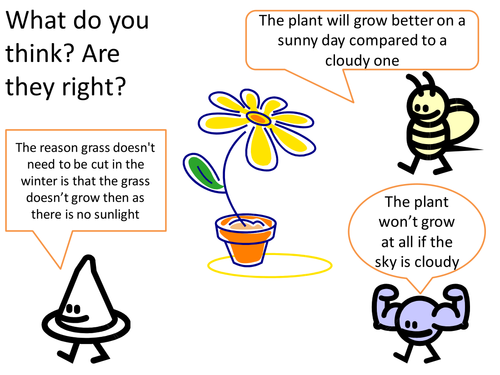 Photosynthesis Concept Cartoon For Discussion 6341805 on Plant Life Cycle Games For Kids