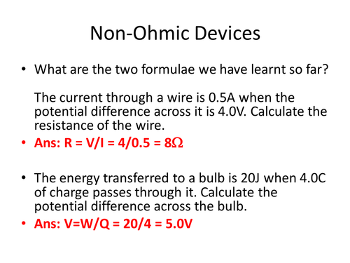 5-2 ohmic and non ohmic devices youtube.
