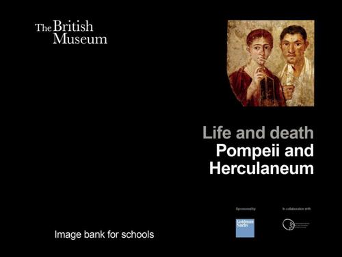 British Museum: Pompeii and Herculaneum image bank