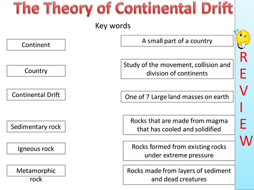 Printables Continental Drift Worksheet continental drift lesson by grayahha teaching resources tes
